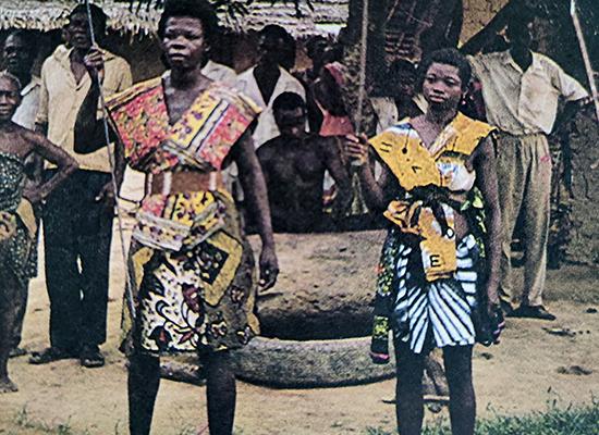 afrikalı bir kabile reisi
